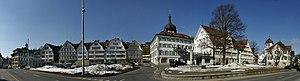Gais - Image: Gais AR Dorfplatz Panorama