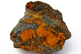 Limonite - Galena and limonite