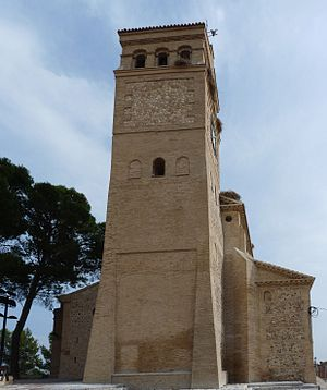 Ribera Alta del Ebro - Gallur, St. Pieter's church