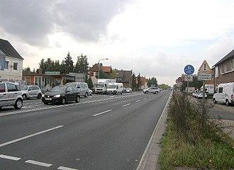Bundesstraße 6 - The B6 in Garbsen