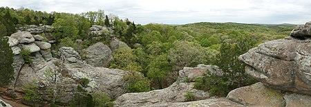 Garden Of The Gods Wilderness, Overlooking The Shawnee National Forest