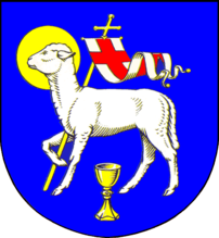 Coat of arms of the municipality Garding in Sc...
