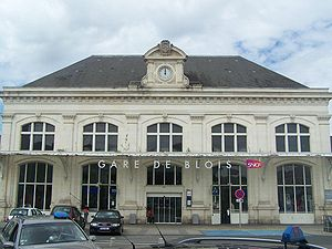 Gare de Blois - The frontage of the station