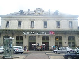 Image illustrative de l'article Gare de Saintes