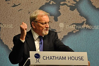Gareth Evans (politician) - Evans given a speech at Chatham House as part of duties for Responsibility to Protect (2011)