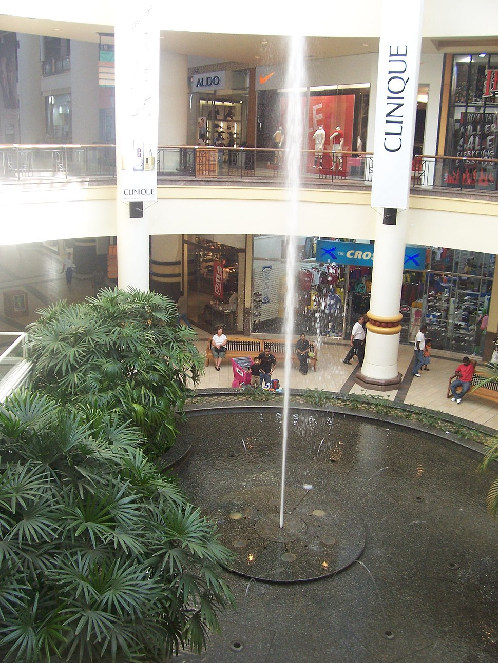 Gateway Mall Fountain
