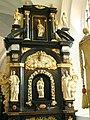 Gdańsk - Oliwa, bazylika archikatedralna, boczny ołtarz w ambicieDSCF7150.jpg