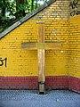 Gedenkkreuz Horst Frank (Maueropfer) in Berlin-Wilhelmsruh.jpg