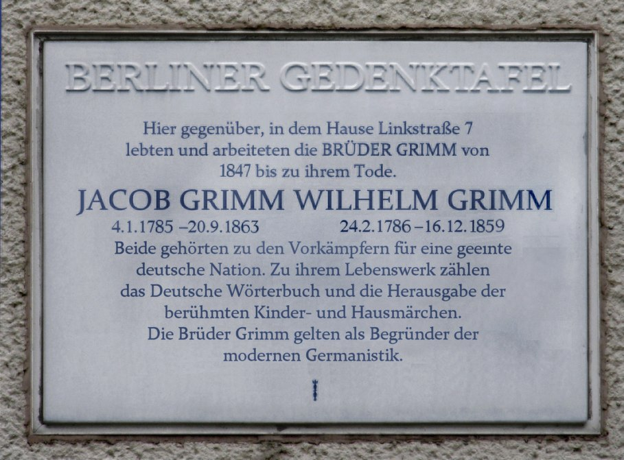 Gedenktafel Alte Potsdamer Str 5 (Tierg) Br%C3%BCder Grimm.jpg