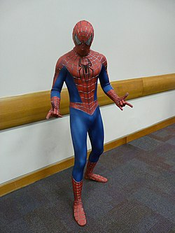 Cosplay de Spider-Man.