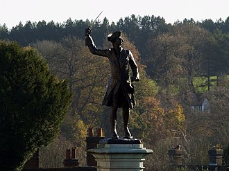 Francis Derwent Wood - Image: General Wolfe looking combative on Westerham Green geograph.org.uk 1598309