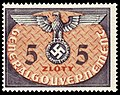 Generalgouvernement 1940 D15 Dienstmarke.jpg