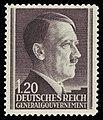 Generalgouvernement 1942 87A Adolf Hitler.jpg