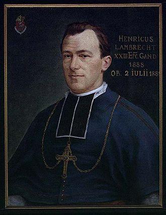 Henri-Charles Lambrecht - Image: Gent, Sint Baafskathedraal Henri Lambrecht B STB 590