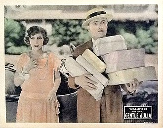 Gentle Julia (1923 film) - Lobby card