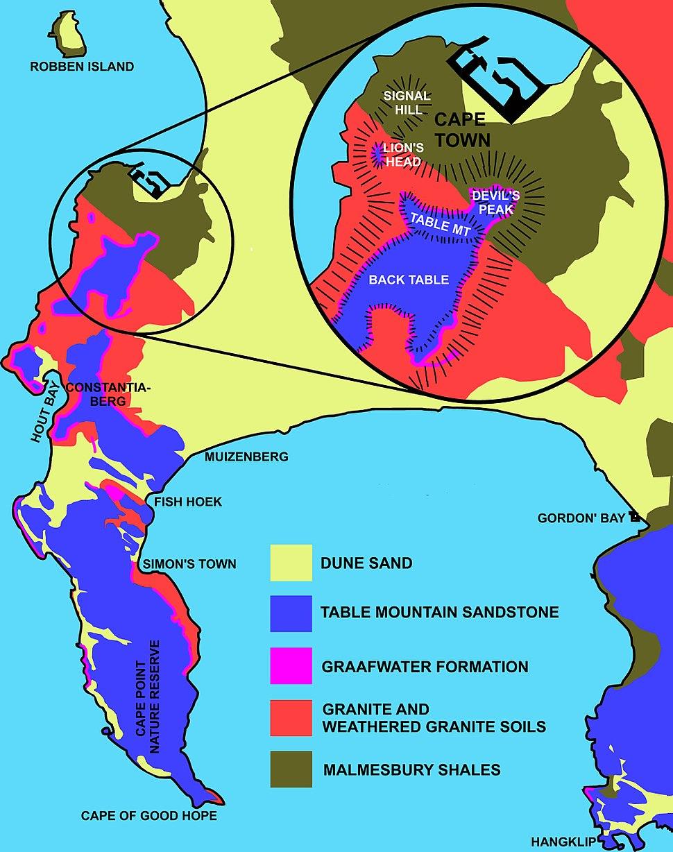 Geology of Cape Peninsula 1
