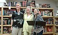 George Mathon Yvonne Daley Why Writers Write Book & Leaf Brandon VT September 2016.jpg