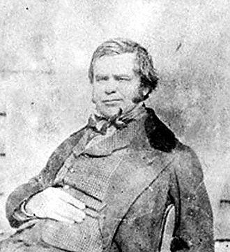 George Thomas Clark - G.T. Clark by Arthur Vivian, 1854