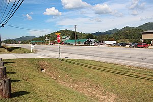 U.S. Route 23 in Georgia - US Route 23 in Rabun County