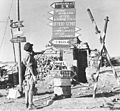 German-Italian signpost at Tobruk 1942.jpg
