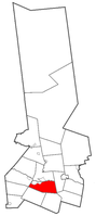 Location of German Flatts in Herkimer County
