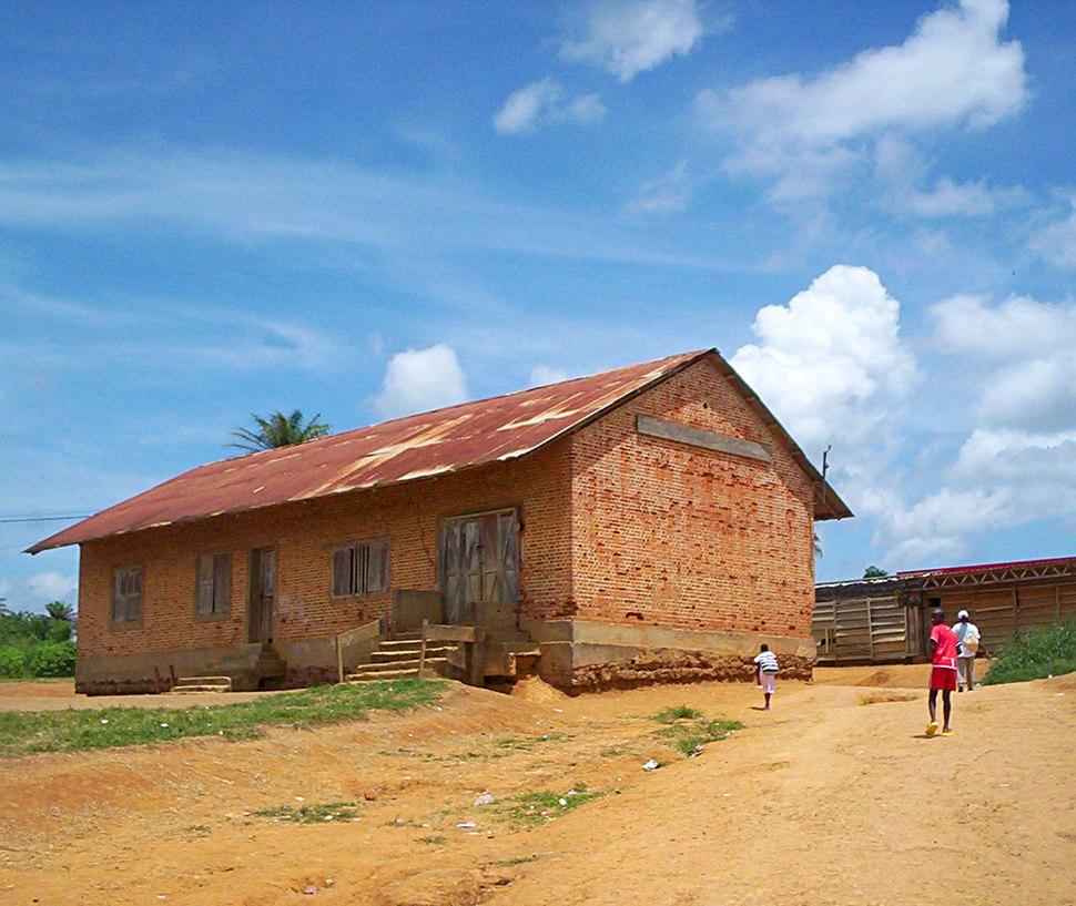 German building at Ambam