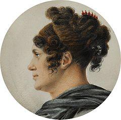 Miniatura Karoliny von Humboldt (1766-1829)