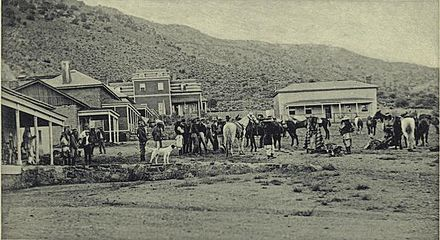 Geronimo departing for Florida from Fort Bowie, Arizona Geronimo departing for Florida from Fort Bowie, Arizona (1895).jpg
