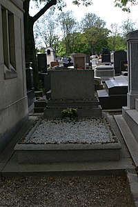 Gertrude Stein's gravestone.JPG