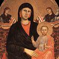 Giotto di Bondone - Madonna and Child (detail) - WGA09327.jpg
