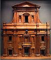Giovanni antonio dosio, modello per la nuova facciata del duomo di firenze, 1590-1600 ca.JPG