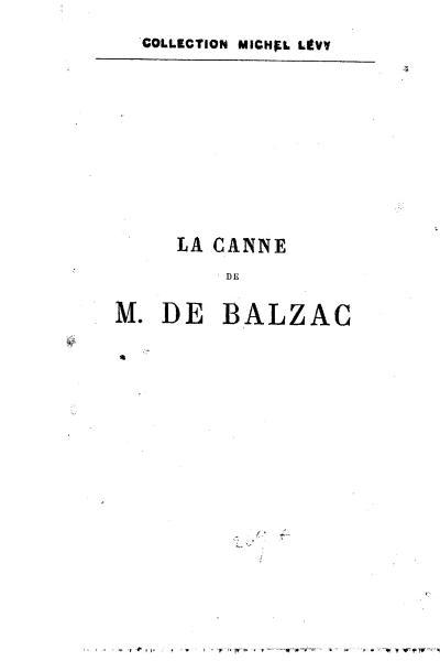 File:Girardin - La Canne de M. de Balzac.djvu