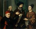 Giustiniano Degli Avancini – Nello studio del pittore.tiff