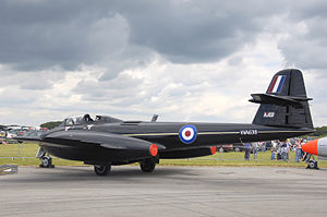 Martin-Baker - Gloster Meteor WA638, owned by Martin-Baker and used for ejection seat tests