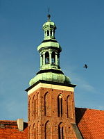 Gniezno.Church of St John the Baptist.Tower