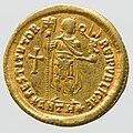 Gold Solidus of Valentinian II - reverse YORYM 1998 853.jpg