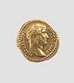 Gold aureus of Hadrian, A.D. 134–138.jpg