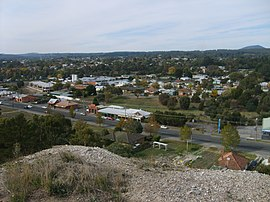 Golden Point (Ballarat) - view from Sovereign Hill 2007.jpg