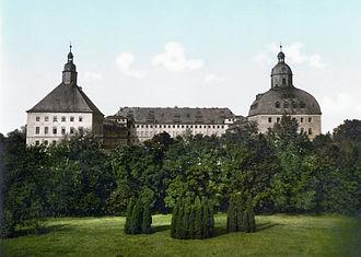 Saxe-Coburg and Gotha - Image: Gotha Schloss 1900