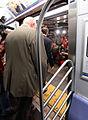 Gov. Cuomo & Chairman Prendergast Ride E Train (15336857956).jpg