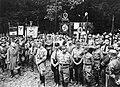 Gründung der Harzburger Front. Bad Harzburg 1931-10-11 NSDAP delegation, evangelical cathedral preacher Bruno Doehring, Korsemann Himmler Röhm Ulrich Hörauf Hühnlein (Göring) Narodowe Archiwum Cyfrowe 3 1 0 17 12230 3 1 33587.jpg