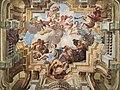"""Grad Brežice, """"Trompe-l'œil"""" freska nad stopniščem.jpg"""