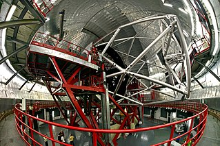 Gran Telescopio Canarias reflecting telescope