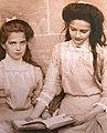 Grand Duchesses Maria and Tatiana of Russia 1910.jpg