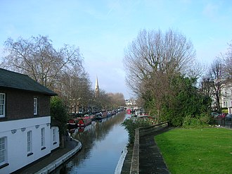 Maida Vale - Image: Grand Union Canal at Little Venice