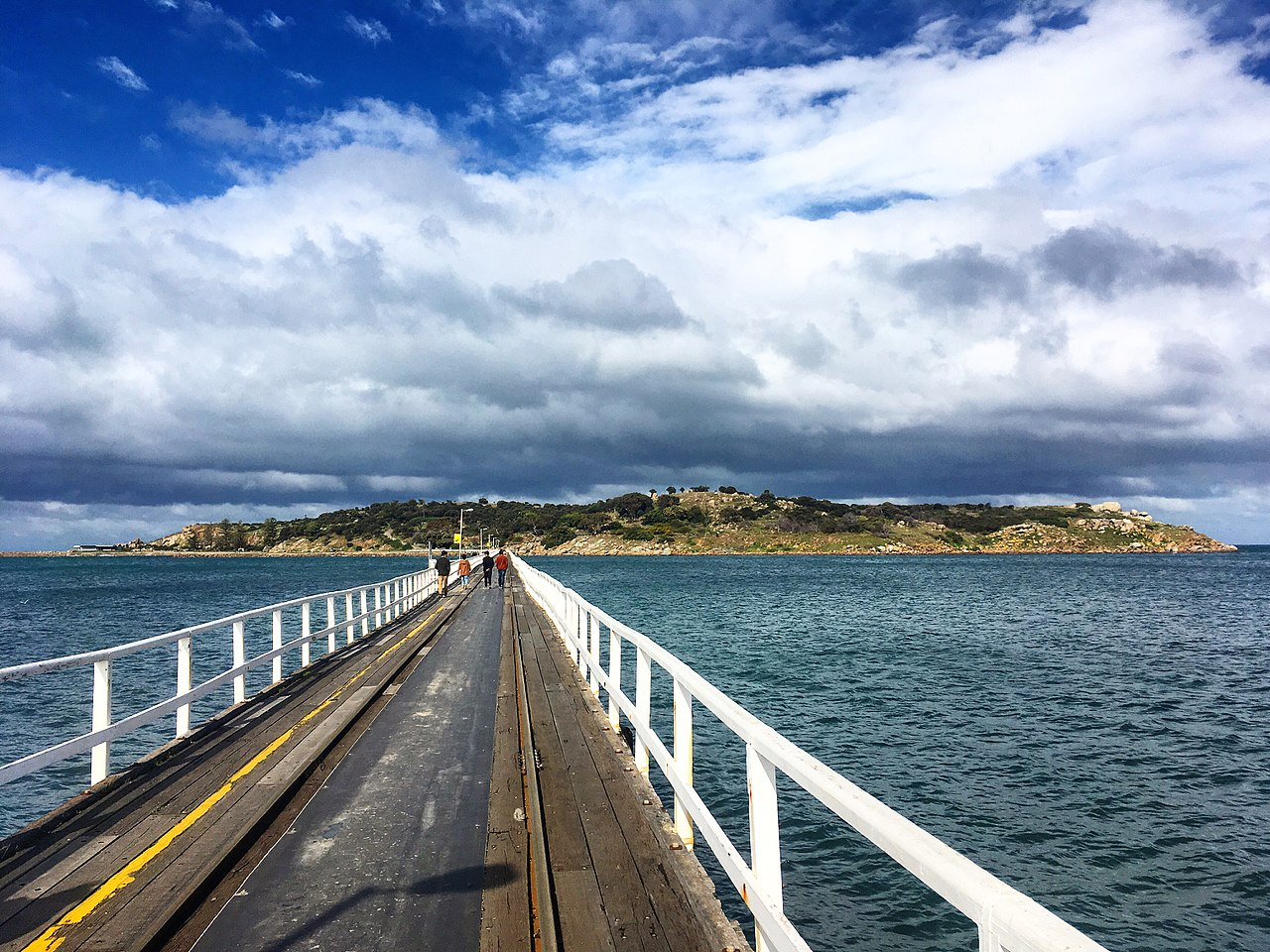 View from Victor Harbor