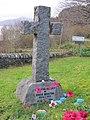 Grave of David Railton, St Bride's Churchyard, North Ballachulish.jpg
