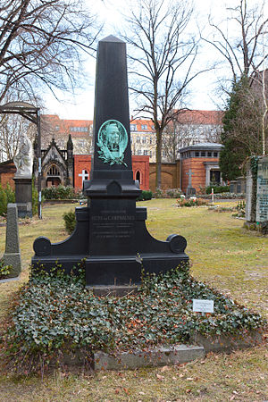 Otto von Camphausen - Grave of Camphausen in Berlin