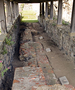Gravesites of Mellitus, Justus and Laurence at St. Augustine's Abbey.jpg