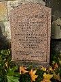 Gravestone of Malvina Wells in St John's Kirkyard, Edinburgh.jpg